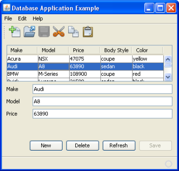What are Database Applications? database applications